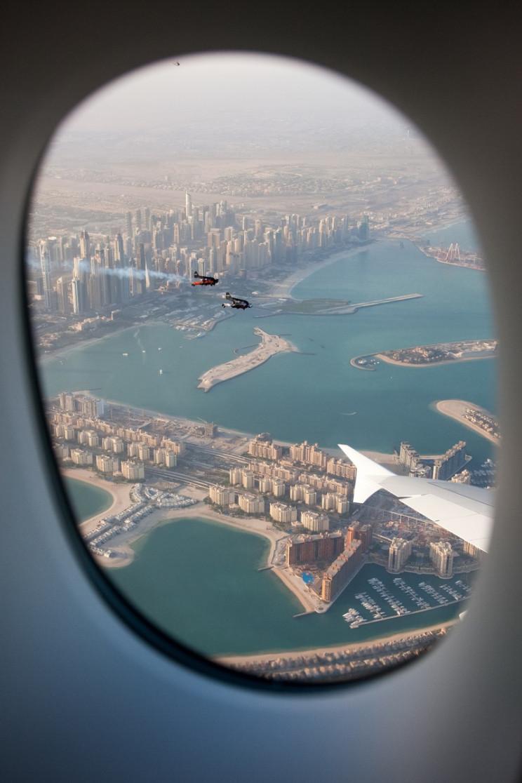 Watch Jetpack Daredevils Fly Alongside the World's Largest Passenger Airliner