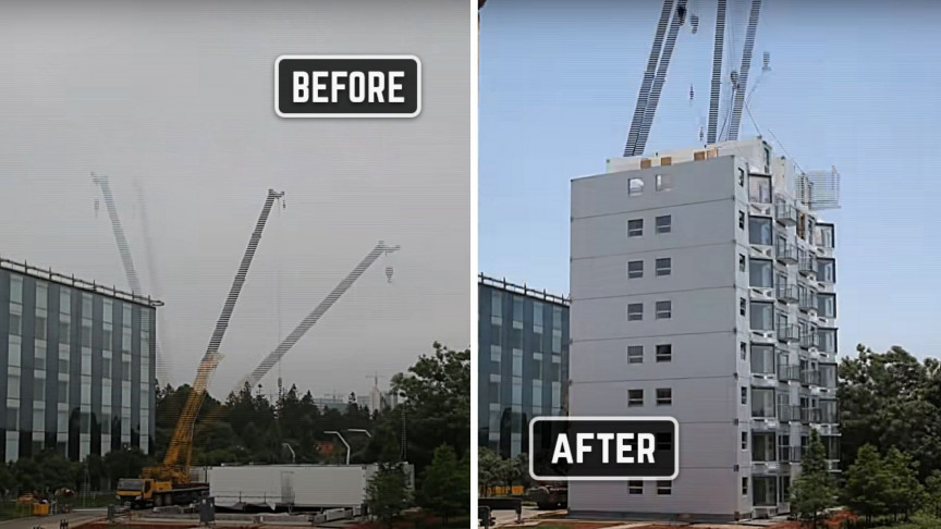 Rome Wasn't Built in a Day But a 10-Story Building Can Be