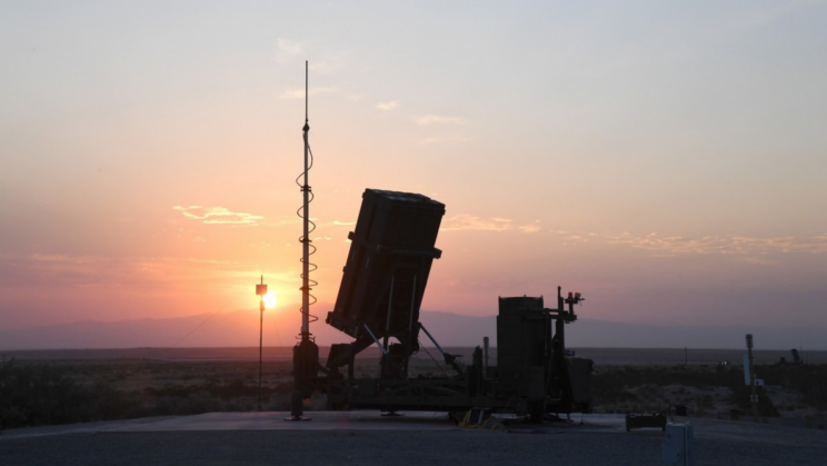 US Army Completes Live Fire Test of Its First Iron Dome Defense System