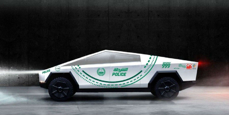 Dubai Police Department Could Add Tesla's Cybertruck to Its High-End Fleet
