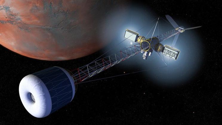artificial gravity spaceship