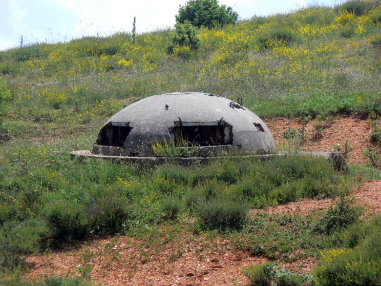 example of albanian bunkers