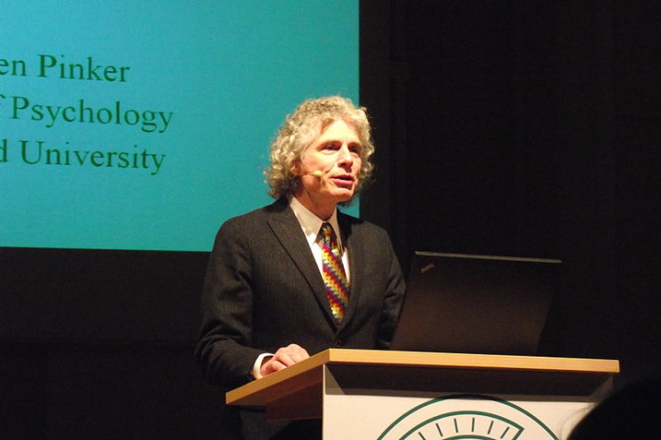 facts about steven pinker talk