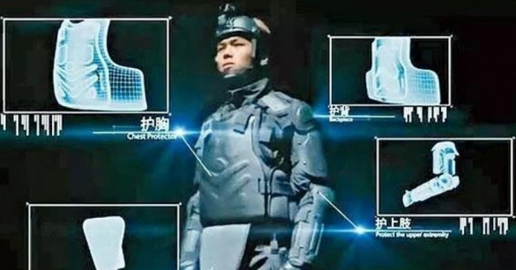 Hong Kong Riot Police Reportedly Buy 'RoboCop-style' Body Armour From China