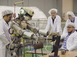 Russia's Humanoid Robot Finally Arrives at the International Space Station