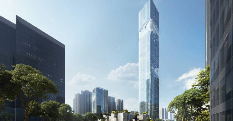 New Chinese Skyscraper Is Built with Structures That Look like Eyes