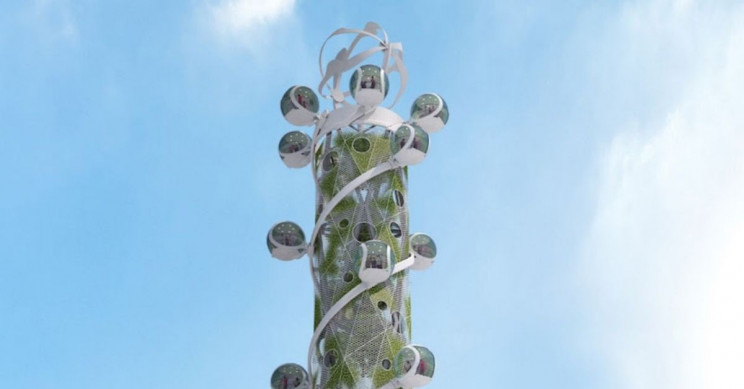 World's First Environmentally Friendly High-Rise Building Will Have a Windmill On It