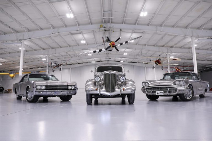 Rare Stainless Steel Ford and Lincoln Cars Headed to Auction