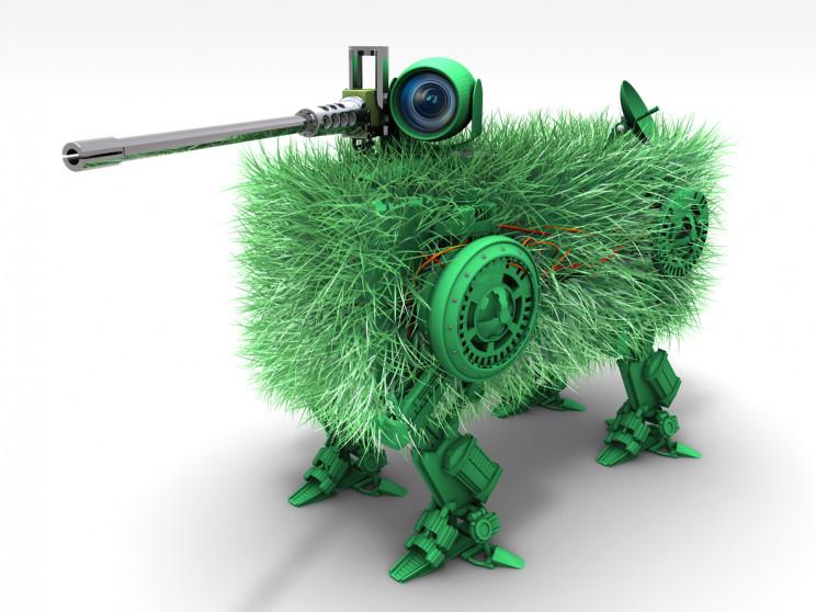 autonomous military robot