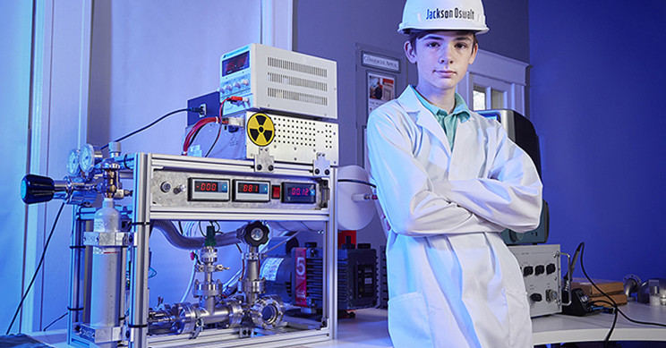 Middle Schooler Becomes Youngest Person to Achieve Nuclear Fusion