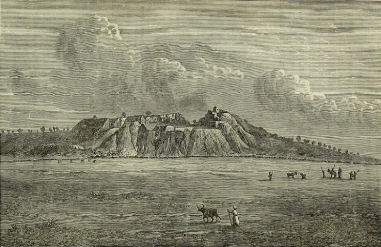 The mound at Hisarlik