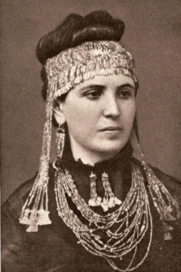Sophia wearing