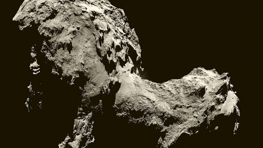 Space Probe Philae Impact Revealed Surprisingly 'Fluffy' Comet Interior