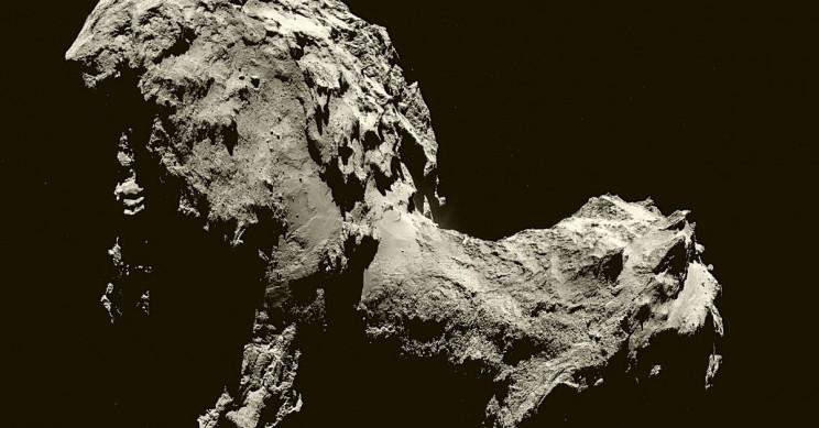 Space Probe Philae Impact Revealed Surprisingly 'Fluffy' Comet Interior