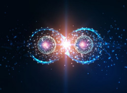Quantum Entanglement Made Data Teleportation Possible between Two Chips