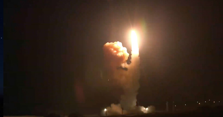 The U.S. Space Force Conducts Its First Unarmed Nuclear-Capable Missile Test