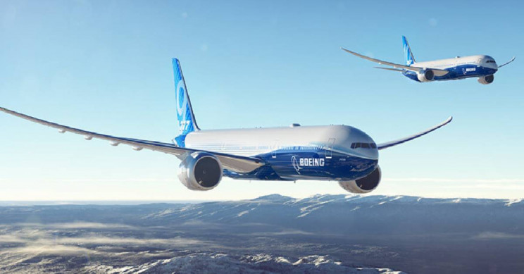 The New Boeing 777X Has Wings That Fold Up and the World's Largest Twin-Engine