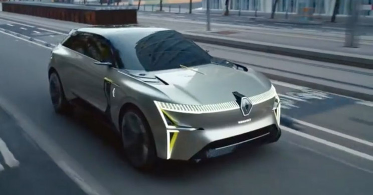 Renault's New Morphoz Concept EV Can Actually Transform