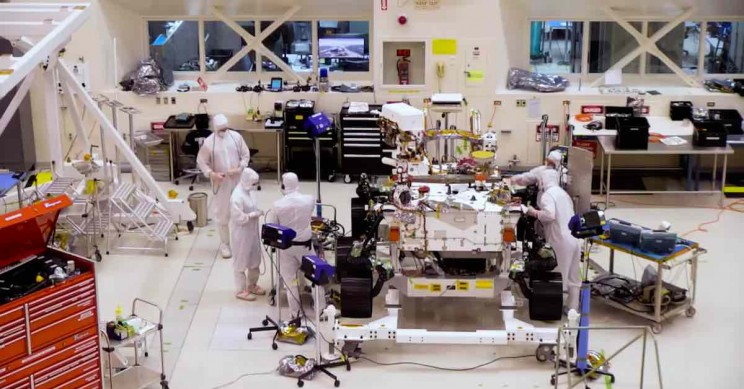 Watch NASA Build the Mars 2020 Rover