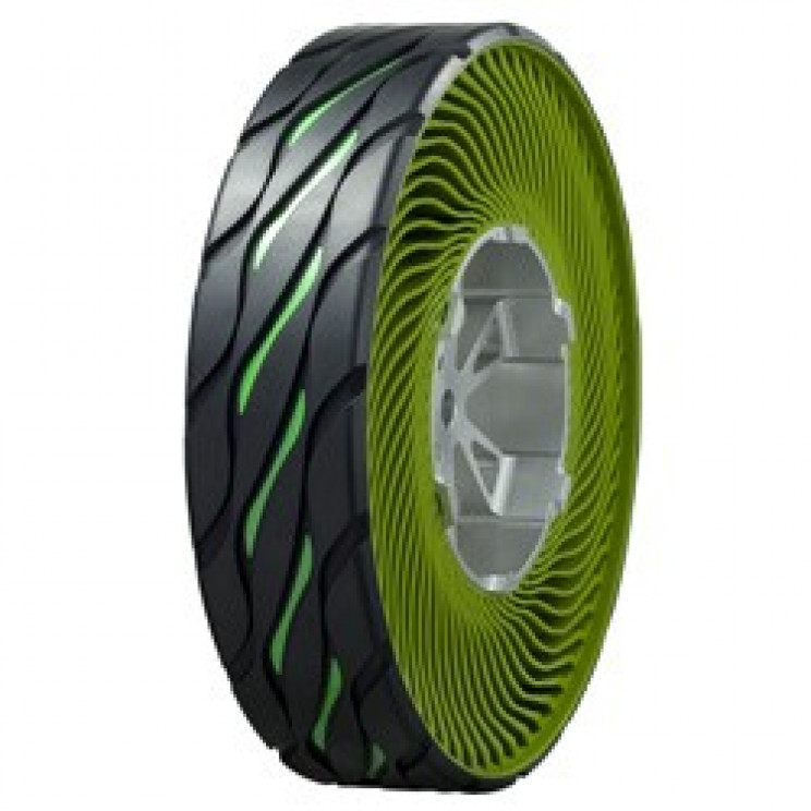 The Airless, Environmentally Friendly Tires of the Future