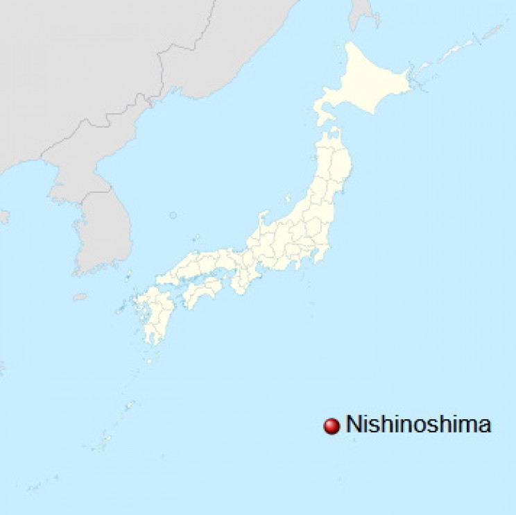 Map of Nishinoshima