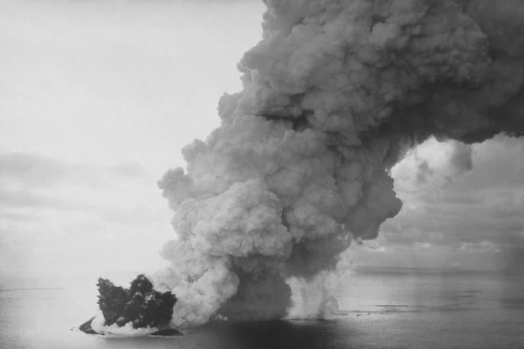 Surtsey's formation