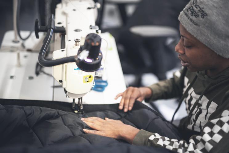 Samaritan Designs Coats That Double As Sleeping Bags to Help the Homeless