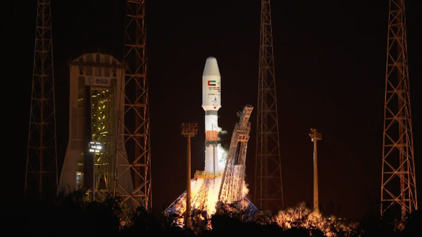 Secretive UAE Falcon Eye 2 Satellite Launched on Soyuz