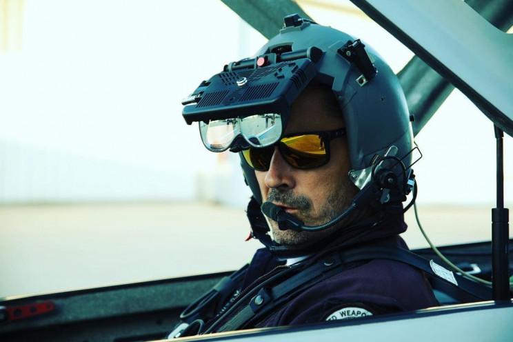 Real Aircraft Pilot Fights Virtual Enemy in AR Training