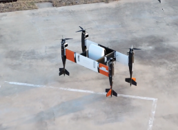 Watch an Enormous Autonomous Cargo Drone Complete Its First Flight
