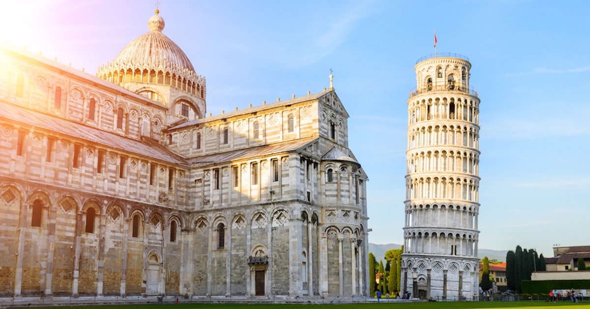 architectural failures tower of pisa
