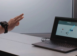 Hands-Free Remote Control of Virtual Environments through a New Interface