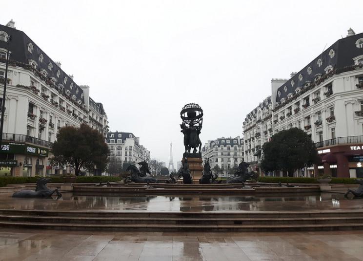 dystopian failed project fake paris