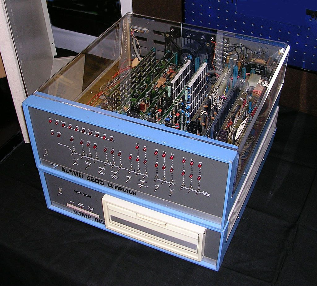 bill gates bio altair 8800
