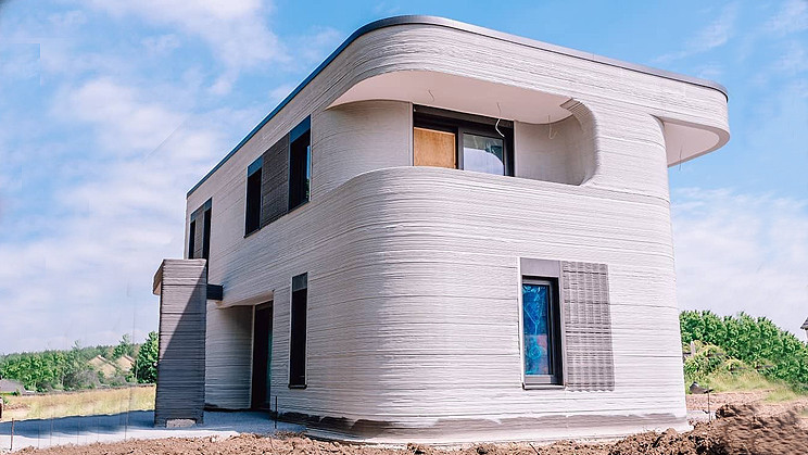 Germany's First 3D-Printed Residential Building is Near Completion
