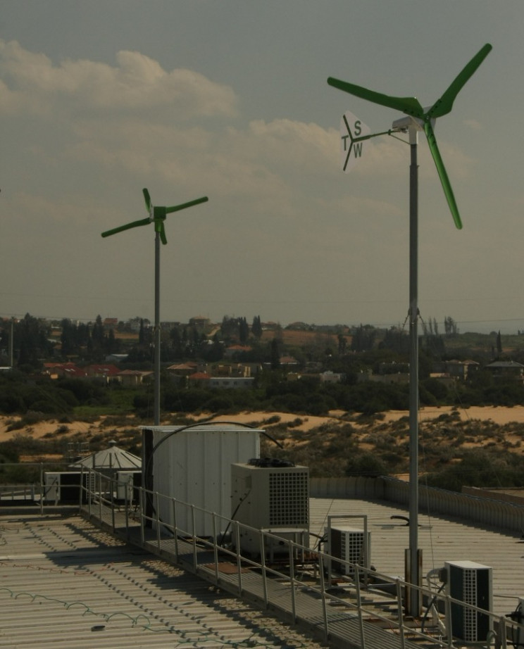 Free standing wind turbine