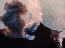 Incredible Footage Has Emerged from the Stromboli Volcanic Eruption