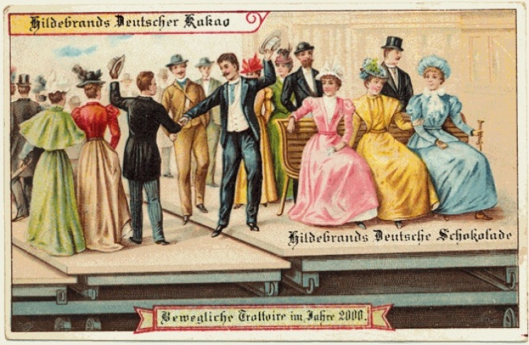 1800s predictions of the future mobile sidewalks