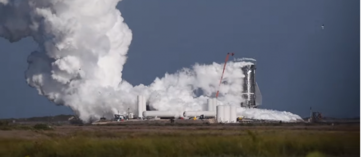 SpaceX's Mk1 Rocket Blows Its Top During Cryogenic Pressure Test