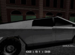 There Is Now a Video of Tesla's Cybertruck in Golden Eye 007