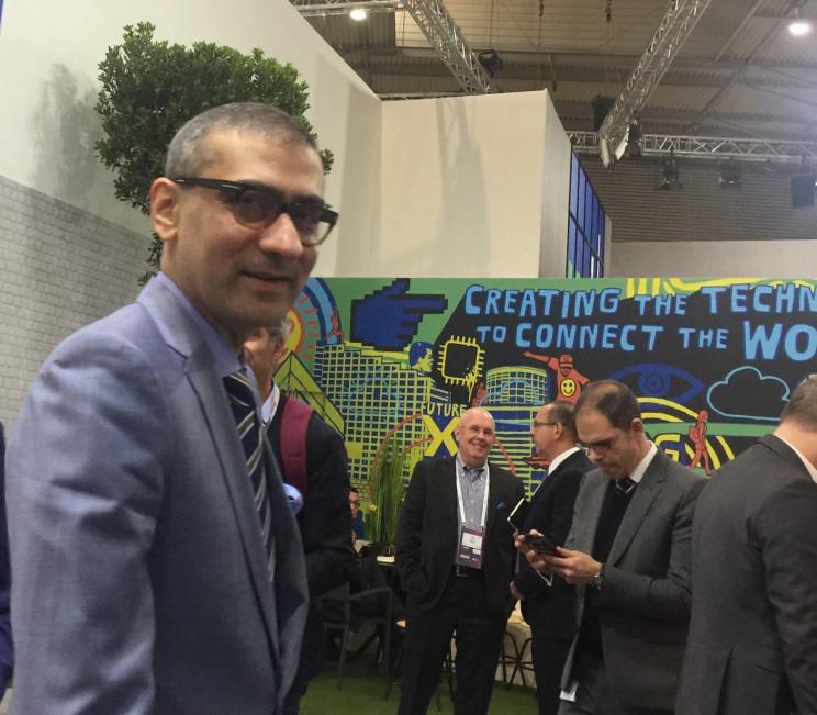 Rajeev Suri, CEO of Nokia, source: Susan Fourtané