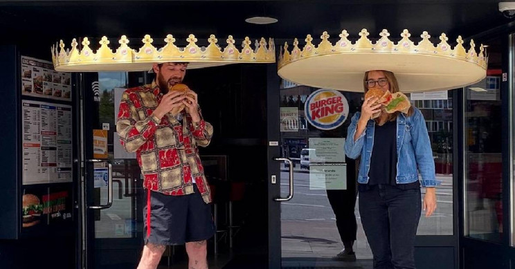 Burger King's New 'Social Distance Crowns' Are Bound to Keep People Apart