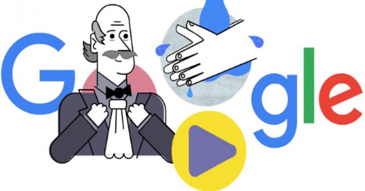 Friday's Google Doodle Honors Doctor Who Proved Hand Washing Saves Lives