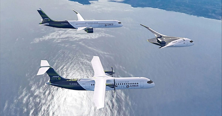 Airbus unveils three zero-emission aircraft concepts