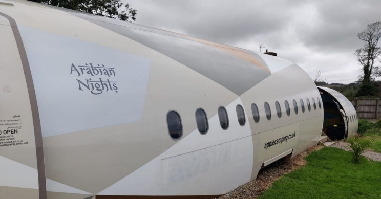 Restored Etihad Jet Turned Into a Holiday Rental You Can Sleep In