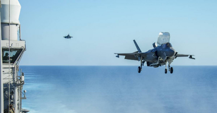 New Video Footage Shows Marine Corps F-35B Firing Its Gun Pod Mid-Air