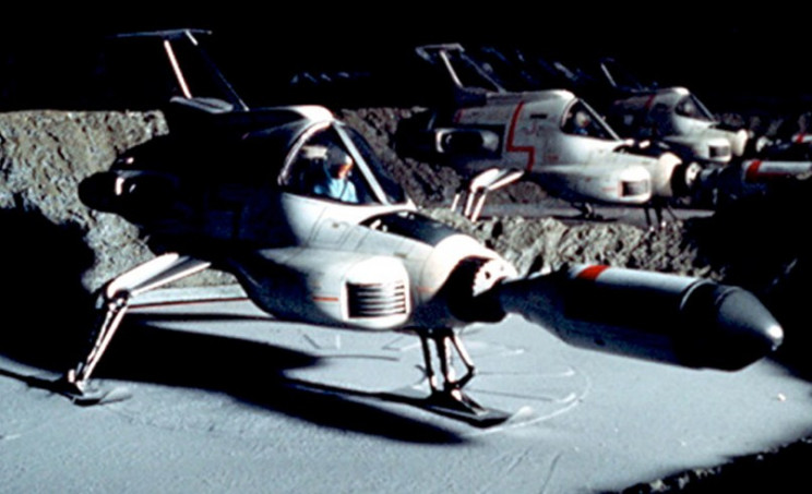 space 1999 interceptor