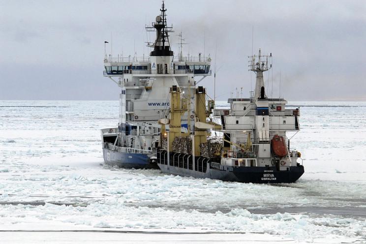 the icebreaker Otso
