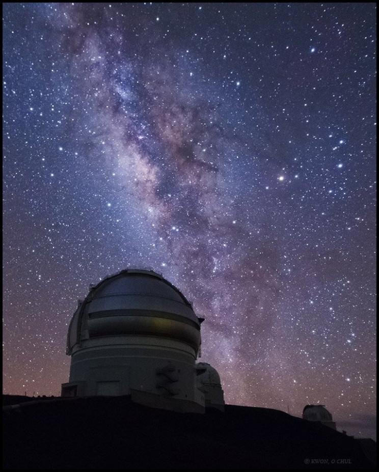 biggest telescopes in the world Gemini North