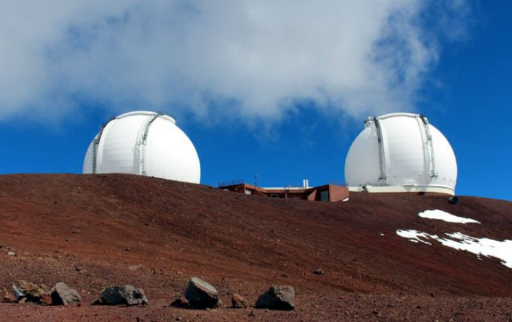 worlds biggest telescopes keck